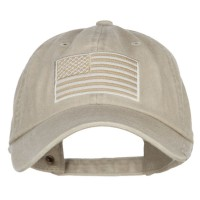 Embroidered Cap - USA Flag Embroidered Washed Dyed Cap | Free Shipping | e4Hats.com