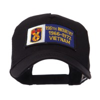 Embroidered Cap - Infantry Rectangle Patch Mesh Cap | Free Shipping | e4Hats.com