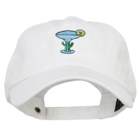 Embroidered Cap - Margarita Embroidered Washed Cap