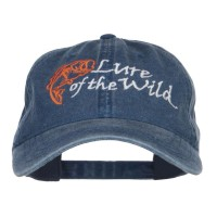 Embroidered Cap - Lure of the Wild Embroidered Cap