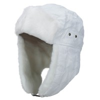 Trooper - White Unisex Stitched ML Trooper Hat