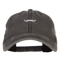 Embroidered Cap - Mini Mustache Embroidered Cap | Free Shipping | e4Hats.com
