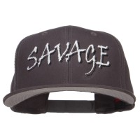 Embroidered Cap - Savage Embroidered Snapback   Free Shipping   e4Hats.com