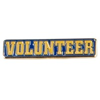Pin and Badge - Volunteer Lapel Pin
