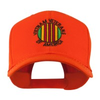 Embroidered Cap - Orange Viet Vets America Embroidered Cap