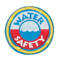 Patch - Water Safety Embroidered Patches | Free Shipping | e4Hats.com