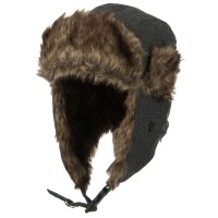 Trooper - Winter Fur Trooper Hat | Free Shipping | e4Hats.com