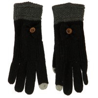 Glove - Women's Knit Texting Bow Glove | Free Shipping | e4Hats.com