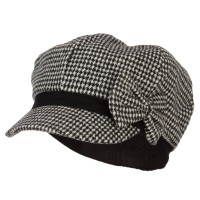 Newsboy - Women's Bow Trim Newsboy Hat | Free Shipping | e4Hats.com