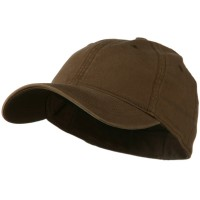 Ball Cap - Brown Washed Natural Fit Cap