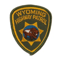 Patch - WY Hwy Western State Police Patches
