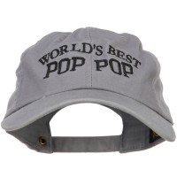 Embroidered Cap - World's Best Pop Embroidery Cap | Free Shipping | e4Hats.com