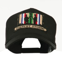 Embroidered Cap - Desert Storm 4 War & Operation Embroidery Patch Cap