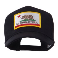 Embroidered Cap - California US Western State Patch Cap