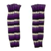 Warmer - Purple Wooly Leg Warmer
