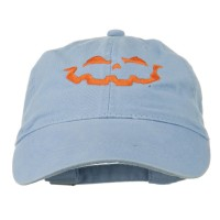 Embroidered Cap - Halloween Lantern Embroidered Cap