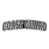 Patch - Navy Extra Large Coast Guard Patch