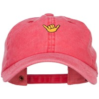 Embroidered Cap - Mini Hang Loose Embroidered Cap   Free Shipping   e4Hats.com
