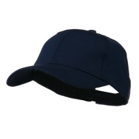 Ball Cap - Navy Youth Athletic Jersey Mesh Cap