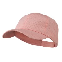 Ball Cap - Pink Youth Athletic Jersey Mesh Cap