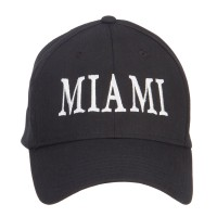Embroidered Cap - City of Miami Embroidered Cap