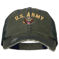 Embroidered Cap - US Army Logo Embroidery Mesh Cap