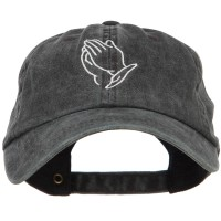 Embroidered Cap - Praying Hands Embroidered Cap | Free Shipping | e4Hats.com