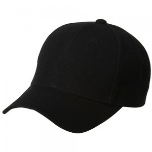 Ball Cap - Black Pro Style Fitted Cap | Coupon Free | e4Hats.com