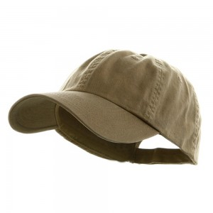 Ball Cap - Khaki Low Profile Unstructured Cap | Coupon Free | e4Hats.com