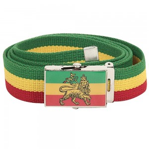 Belt , Buckle - Lion Rasta Belt | Coupon Free | e4Hats.com