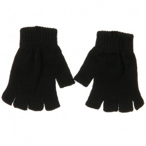 Glove - Black Fingerless Magic Glove | Coupon Free | e4Hats.com