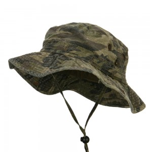 Outdoor - Camo Camouflage Washed Hunting Hat | Coupon Free | e4Hats.com