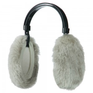 Warmer - Light Grey Thermal Insulated Ear Muff | Coupon Free | e4Hats.com
