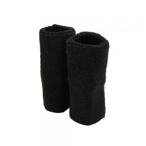 Band - Black XL Terry Cloth Wrist B, Pair | Coupon Free | e4Hats.com