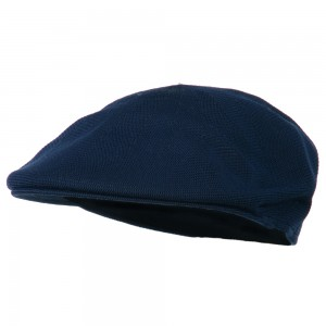 Ivy - Navy Knitted Polyester Ivy Cap | Coupon Free | e4Hats.com