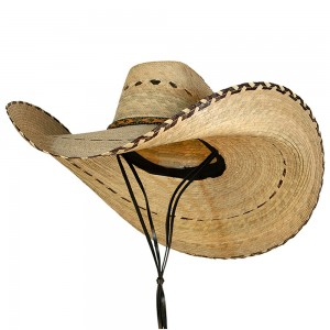 Outdoor - Natural Oversized Cowboy Wide Brim Straw Hat | Coupon Free | e4Hats.com