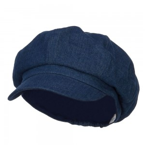 Newsboy - Denim Big Size Cotton Newsboy Hat | Coupon Free | e4Hats.com