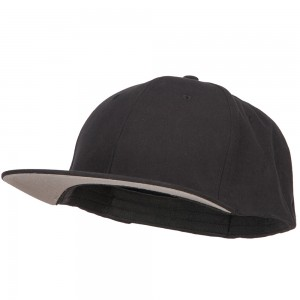 Ball Cap - Black Big Size Stretchable Fitted Cap
