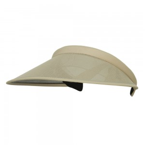 Visor - Khaki UV 50+ Protection Clip On Visor