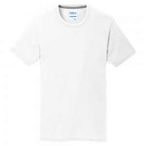 Shirt - White Men's Big Size Cotton Blend T-Shirt | Coupon Free | e4Hats.com
