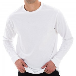 Shirt - White Unisex Lane Seven Cotton Long T-shirt | Coupon Free | e4Hats.com