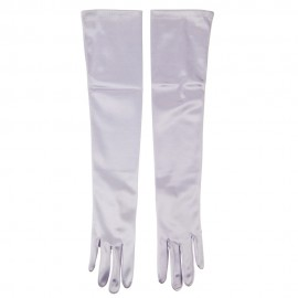 Satin 12BL 19 Inches Glove