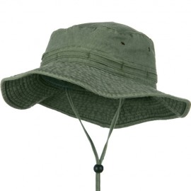 Extra Big Size Fishing Hats-Olive