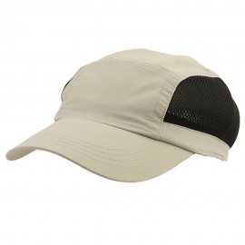 UV 50+ Protection Casual Outdoor Cap - Khaki Black