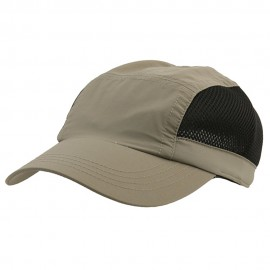 UV 50+ Protection Casual Outdoor Cap - Olive Black