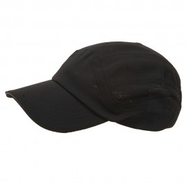Athletic Casual Cap-Black