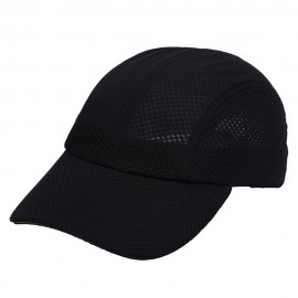 4 Panel Athletic Mesh Cap-Navy