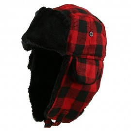 Buffalo Plaid Trooper Hat