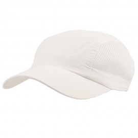 UV 50+ Protection Casual Outdoor Cap - White White