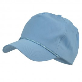 Cotton Twill Golf Cap - Light Blue